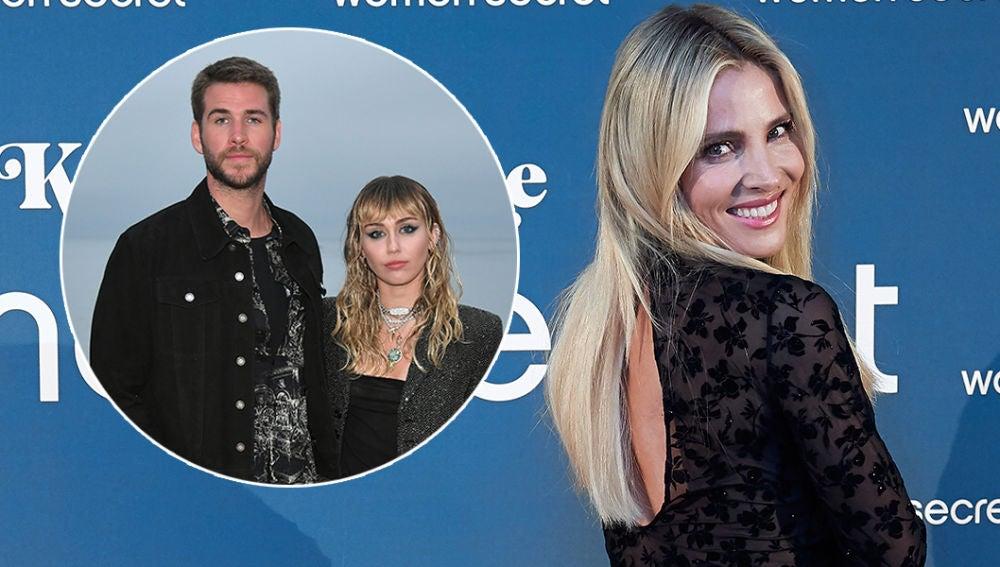 Elsa Pataky habla de la ruptura de Liam Hemsworth y Miley Cyrus