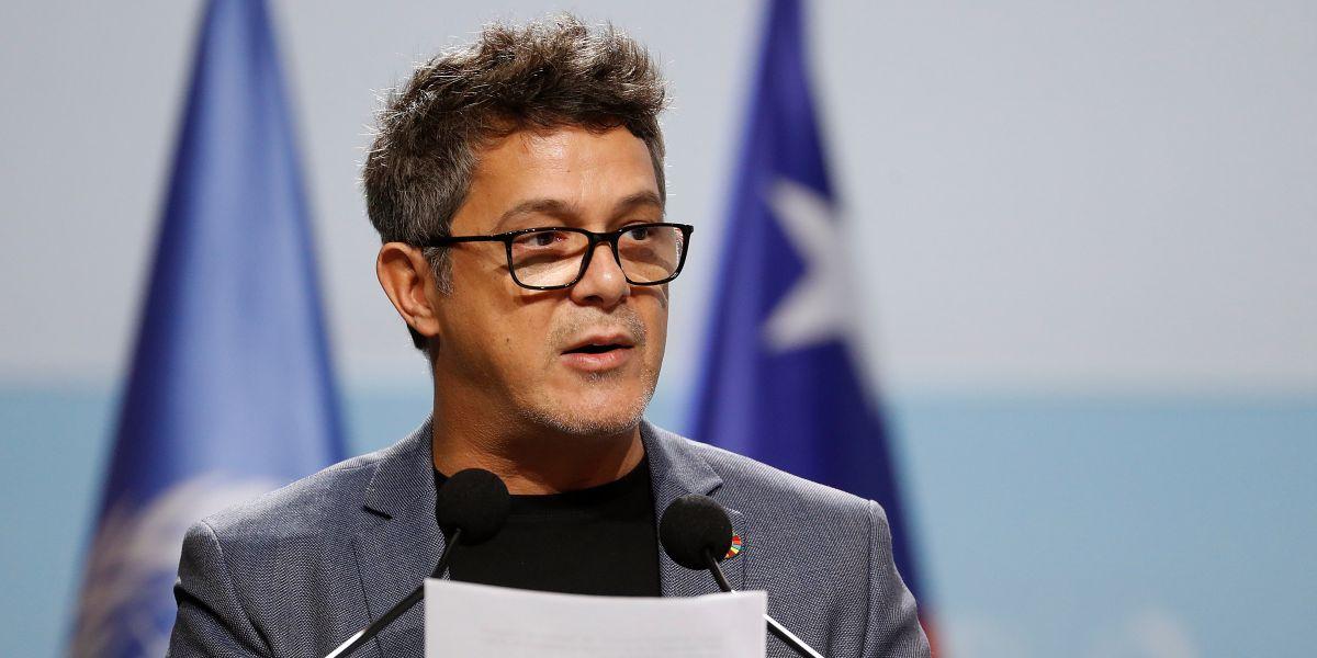 Alejandro Sanz en la Cumbre del Clima en Madrid