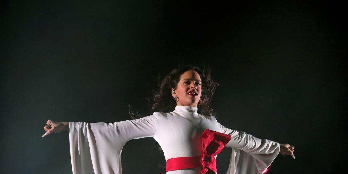 Rosalía, en el Wizink Center