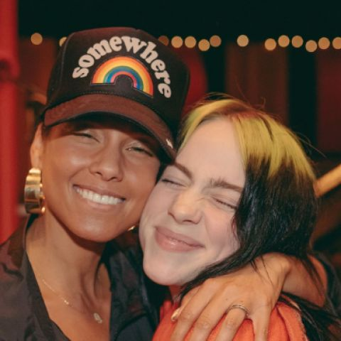 Billie Eilish y Alicia Keys