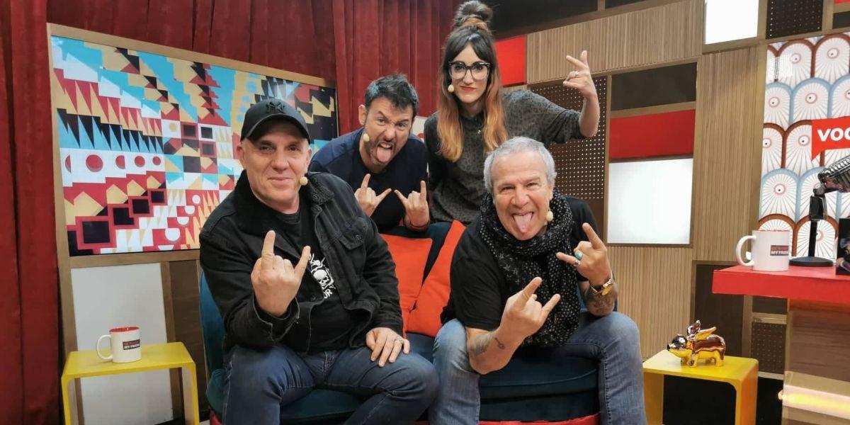 Obús con Ana Morgade e Iñaki Urrutia en 'yu, no te pierdas nada'