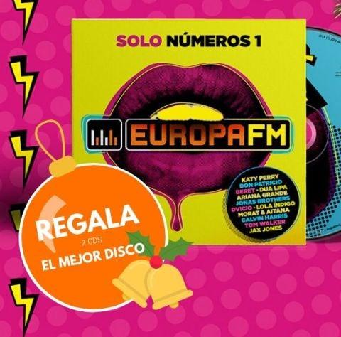 En Navidad, regala el disco de Europa FM