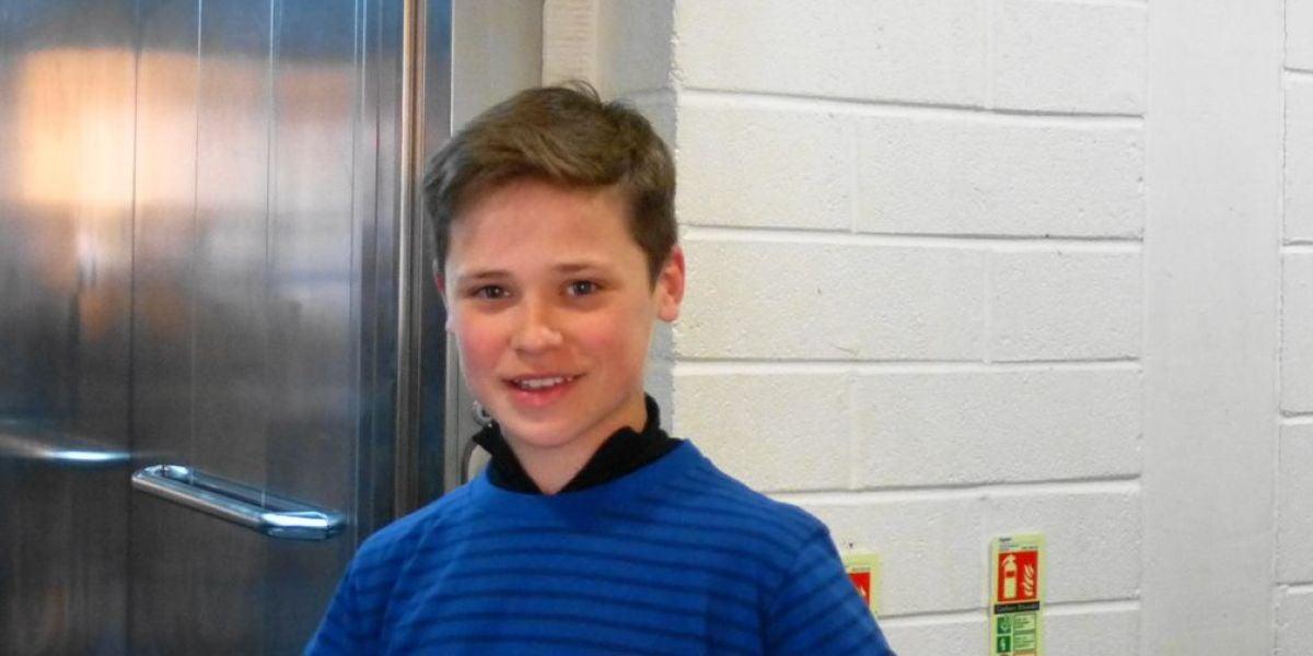 El actor infantil Jack Burns