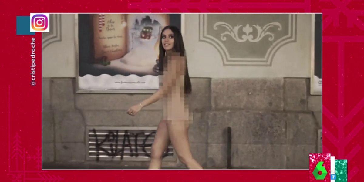 """""""¿Perdona, en pelotas?"""": las reacciones al explosivo vídeo de Cristina Pedroche sobre su vestido de Nochevieja"""