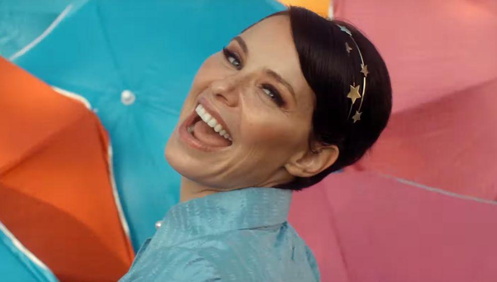 Soraya en su videoclip de 'Gimme de tu amor'
