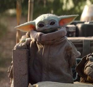 Baby Yoda, uno de los personajes de la serie 'The Mandalorian'
