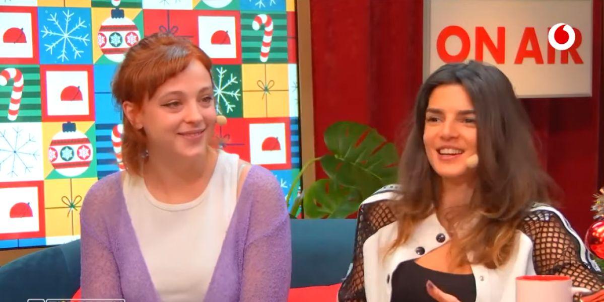 Clara Lago y Catalina Sopelana en 'yu, no te pierdas nada'