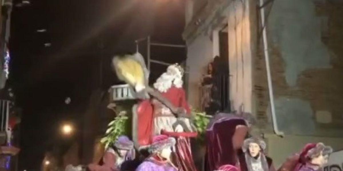 El rey Melchor de mal humor