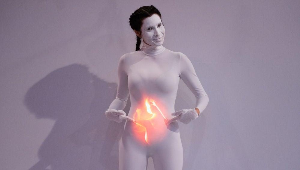 El cuerpo de Pilar Rubio se convierte en un sorprendente lienzo en 'El Hormiguero 3.0'
