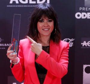 Vanesa Martín en los Premios Odeón