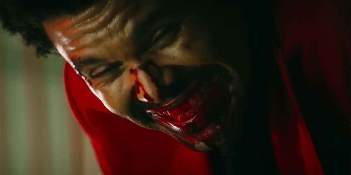 The Weeknd en el videoclip de 'Blinding Lights'