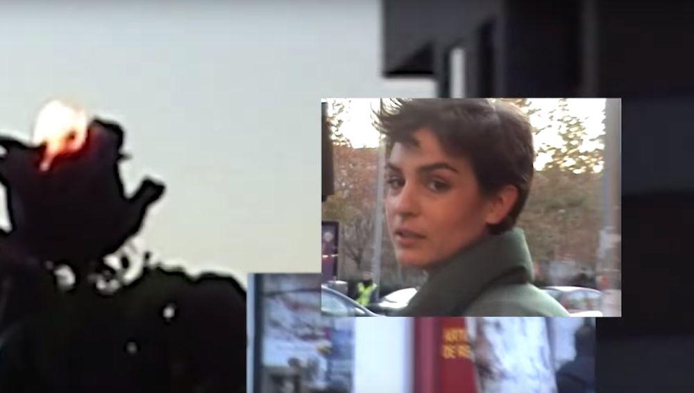 Imagen del videoclip de 'olvídate de mí' de Natalia Lacunza