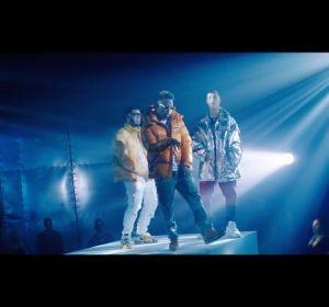 Anuel AA, Ozuna y Lunay en el videoclip de 'Aventura'