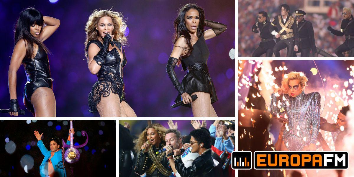 Las mejores actuaciones de la Super Bowl