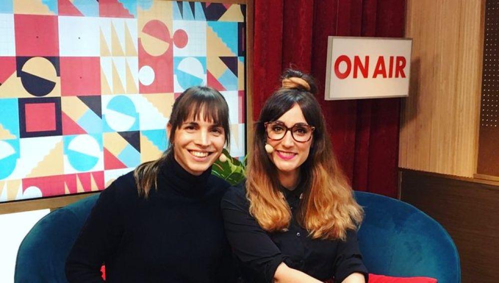Alba Palacios y Ana Morgade en yu
