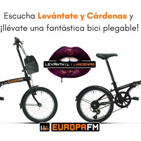 Consigue una fantástica bici urbana con Levántate y Cárdenas