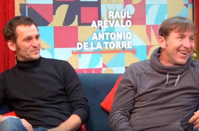Raúl Arévalo y Antonio de la Torre