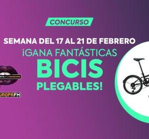Gana fantásticas bicis plegables con Levántate y Cárdenas