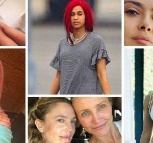 Celebrities sin maquillaje
