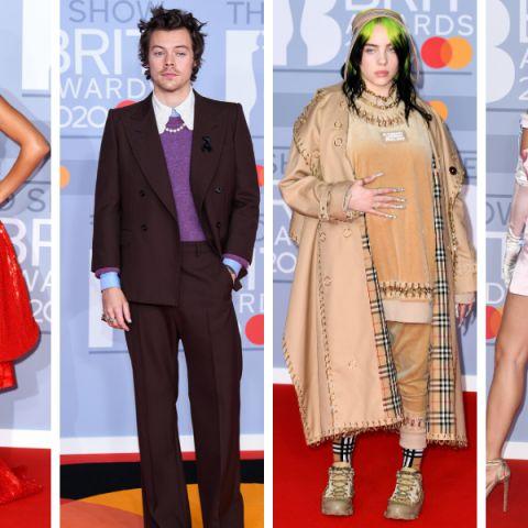 Los mejores looks de la alfombra roja de los BRIT Awards
