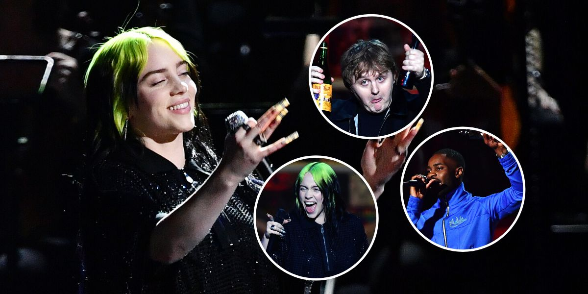 Brit Awards 2020 - Billie Eilish, Lewis Capaldi o Dave, los protagonistas