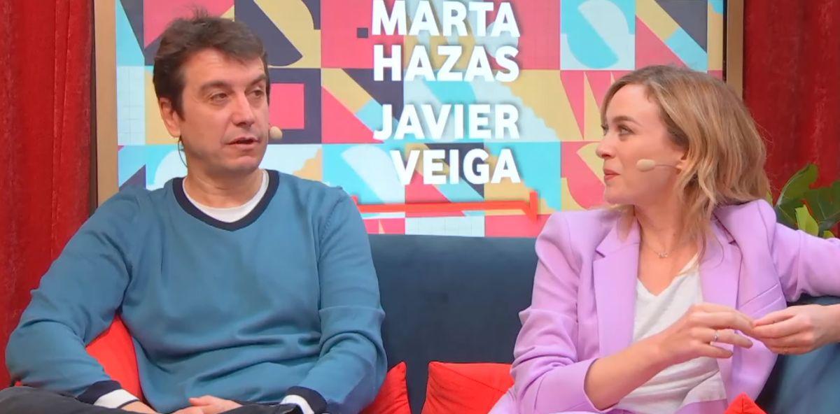 Marta Hazas y Javier Veiga