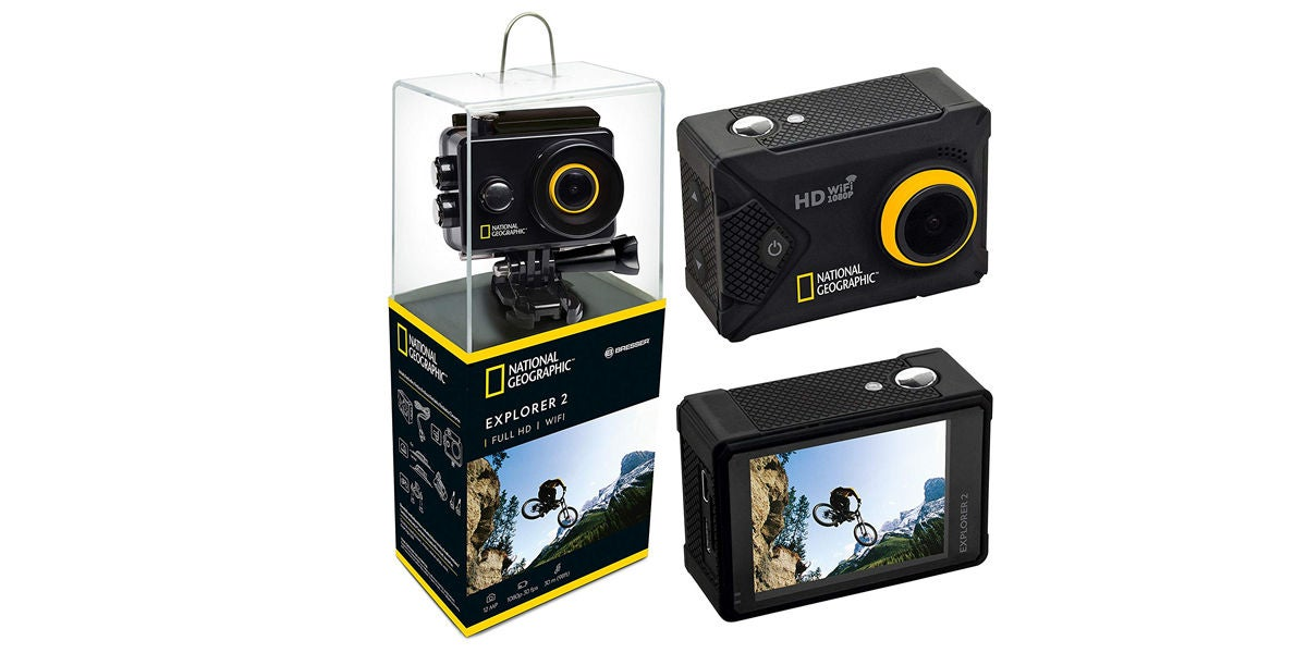 Levántate y Cárdenas regala fantásticas cámaras deportivas National Geographic Explorer 2