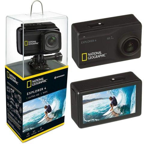 Levántate y Cárdenas regala fantásticas cámaras deportivas National Geographic