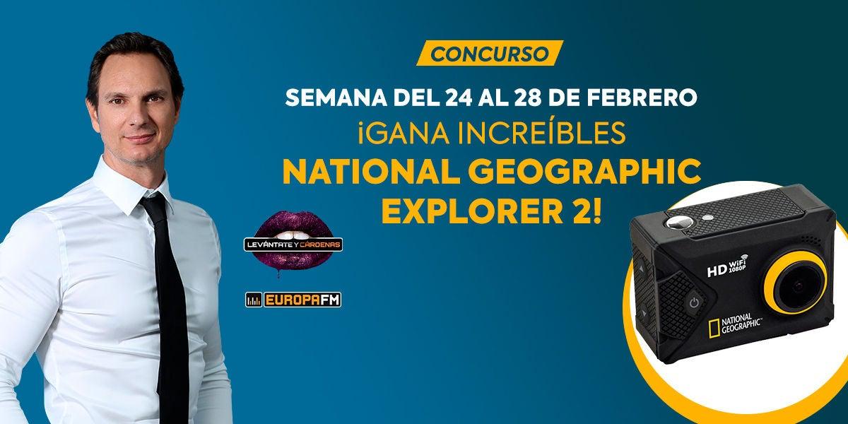 Levántate y Cärdenas te regala cámaras National Geographic 2