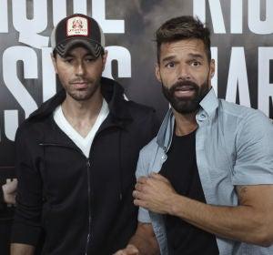 Enrique Iglesias y Ricky Martin