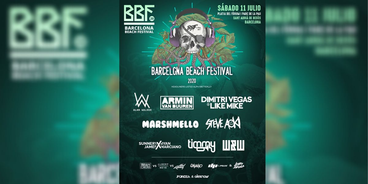 Cartel del Barcelona Beach Festival 2020