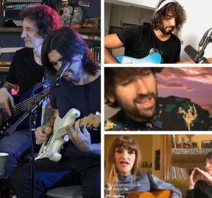 Alejandro Sanz, Juanes, Mikel Izal, David Otero y Rozalén, ofrecen conciertos a través de la red durante el confinamiento