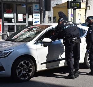 La Policía Local de Ciudad Real denuncia a dos conductores por sobrepasar la tasa de alcoholemia permitida