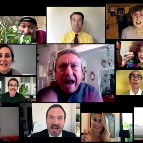 Los actores de 'Camera Cafe' se reúnen 10 años después para que te quedes en casa