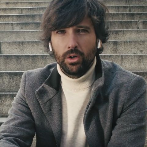 David Otero en el videoclip de 'Como tú'