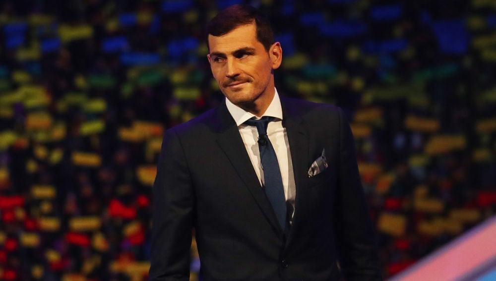 Iker Casillas, en un evento