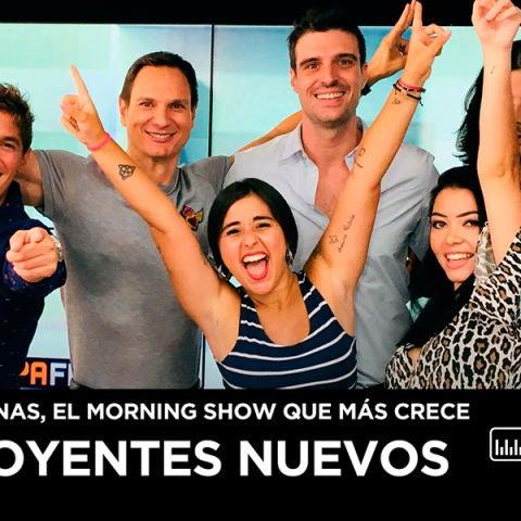 El equipo de Levántate y Cárdenas