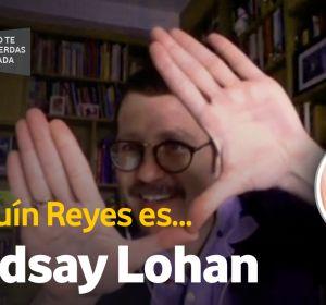 Joaquín Reyes en Lindsay Lohan