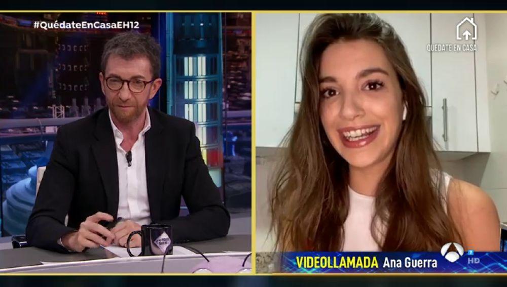 """Ana Guerra habla sobre el título del tema que ha compuesto durante la cuarentena: """"De esa parte se encarga Alejandro Sanz"""""""