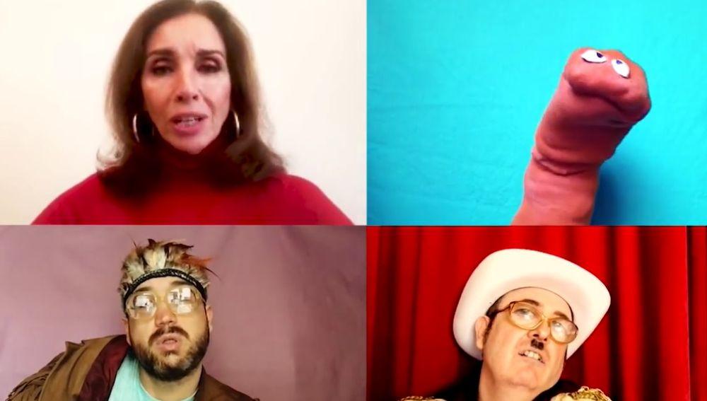 Ana Belén y Ojete Calor versiona el mítica 'Agapimú'