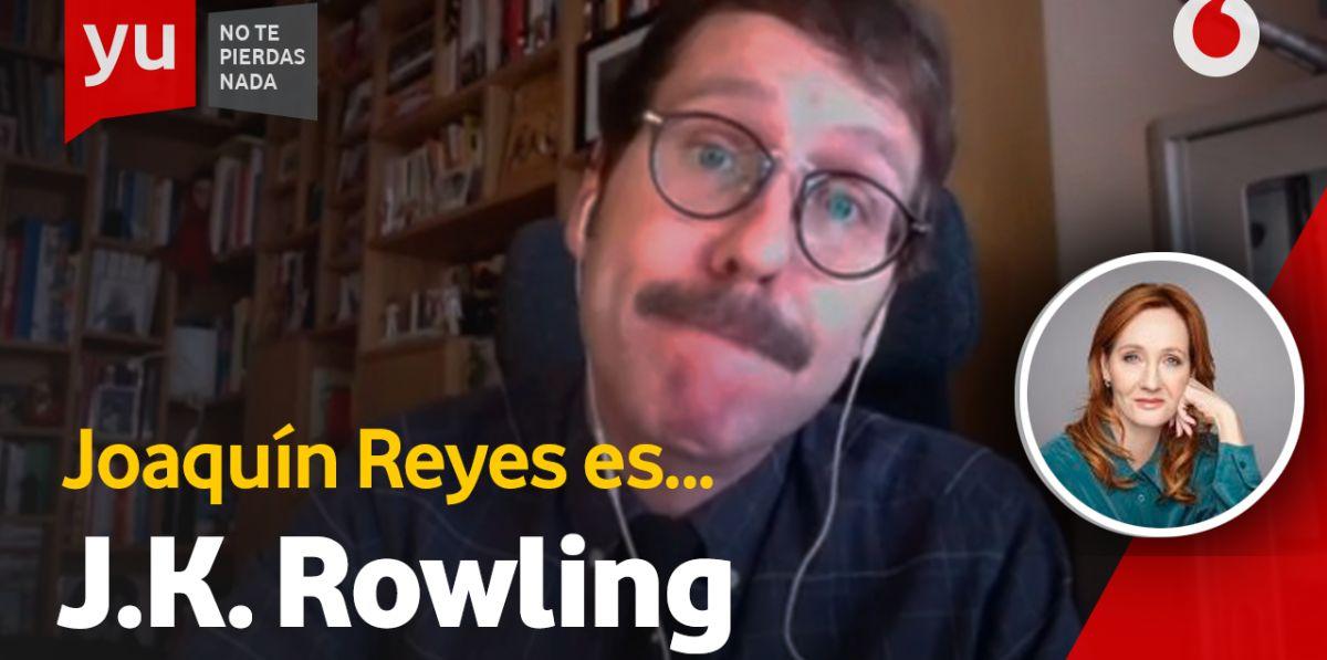 Joaquín Reyes en J. K. Rowling