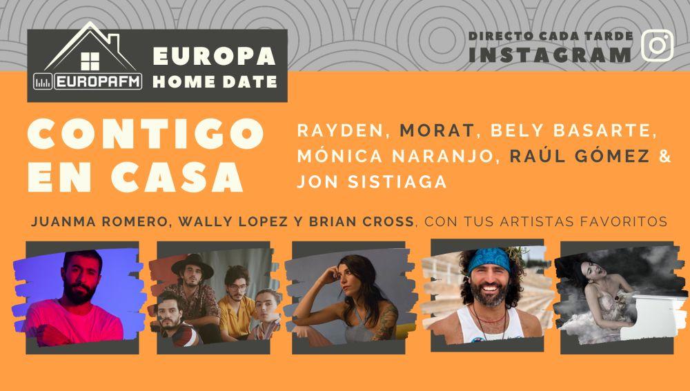 Europa Home Date: cartel de entrevistas de la quinta semana