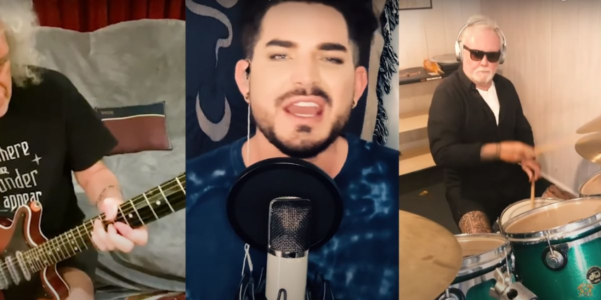 Queen y Adam Lambert versionan 'We Are The Champions'