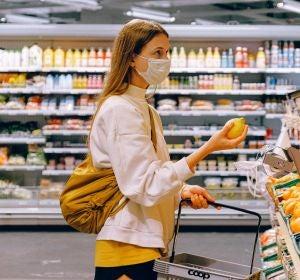 Hacer la compra con mascarilla