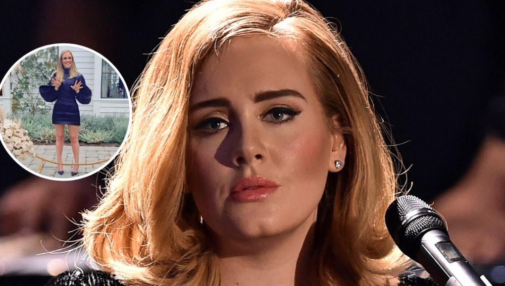 Adele reaparece por su cumpleaños mucho más delgada