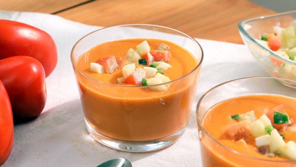 Gazpacho andaluz, ¡la receta tradicional!