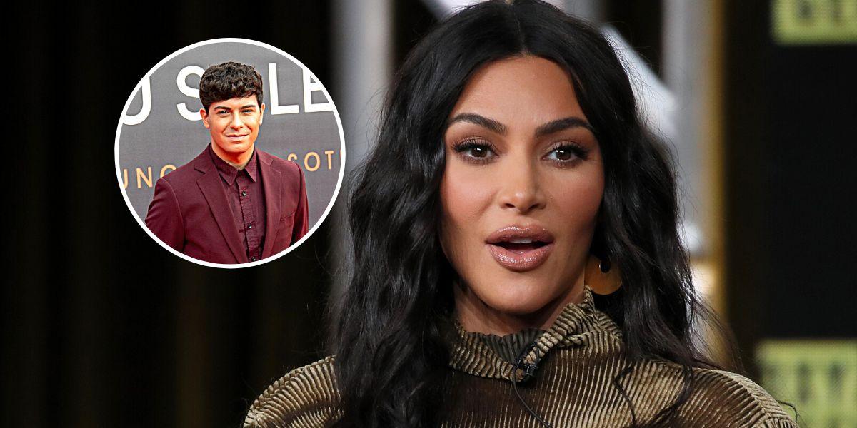 Kim Kardashian menciona a Alfred García en un tuit