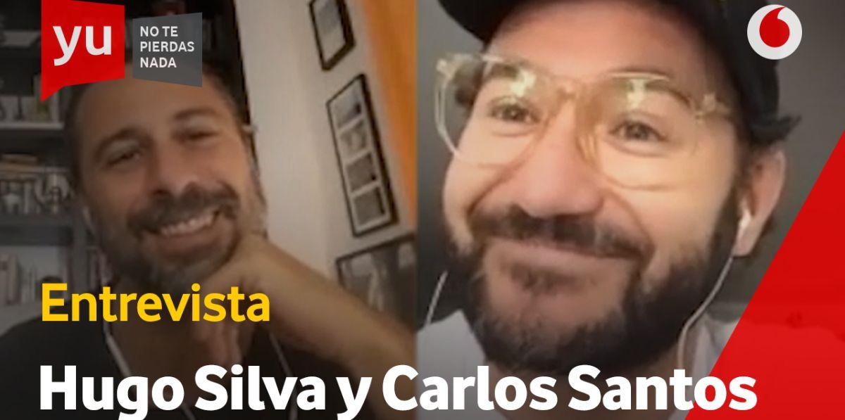 Hugo Silva y Carlos Santos en 'yu'