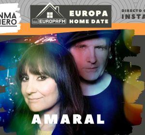 Amaral en Europa Home Date