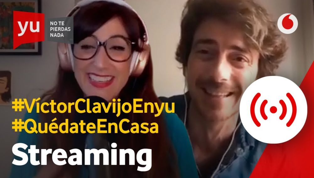 Víctor Clavijo en 'yu'